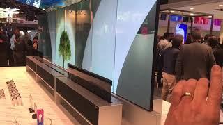 ISE 2019 LG signature OLED TV …