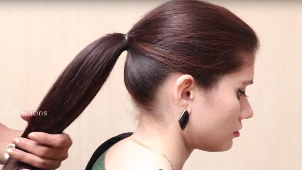 Beautiful Ponytail Hairstyles For Functions Or Wedding