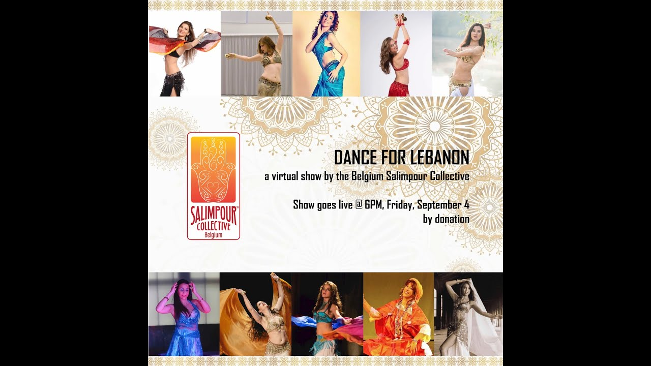 Teaser - Dance for Lebanon - a virtual show by the Belgium Salimpour Collective