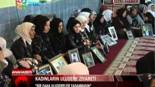 kadınların uludere ziyareti MOR BULTEN/ IMC TV