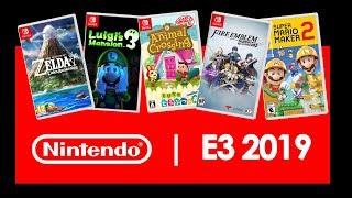 JUEGOS confirmados de NINTENDO SWITCH para el E3 2019