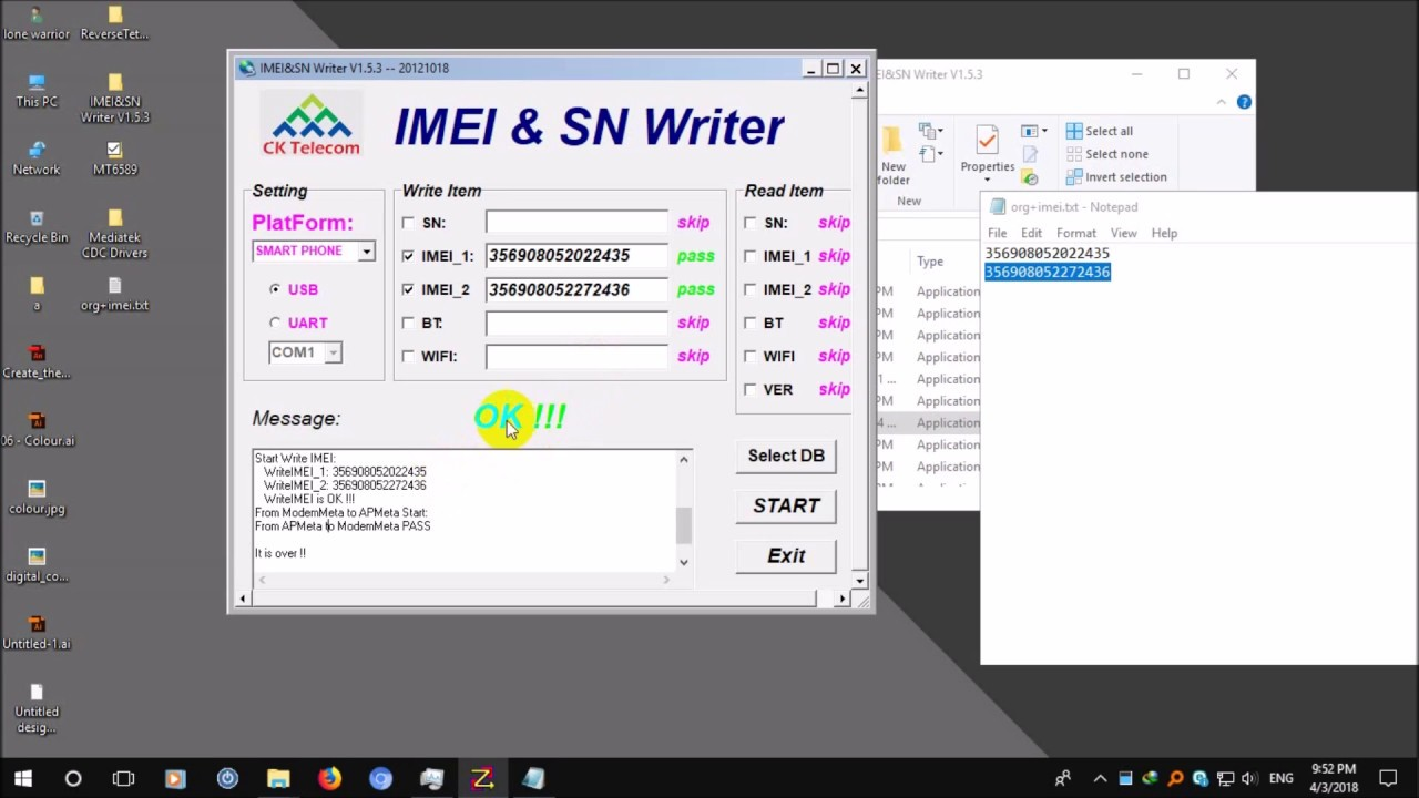 How To Repair Fix IMEI On Mediatek MT6589 And Other MTK Android Phones