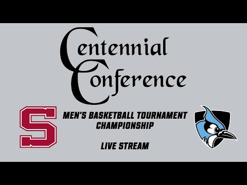 Centennial Conference MBB Championship: Swarthmore Vs. Johns Hopkins (Live Stream)
