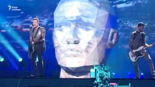Репетиція пісні Time українського гурту O.Torvald напередодні відкриття Євробачення