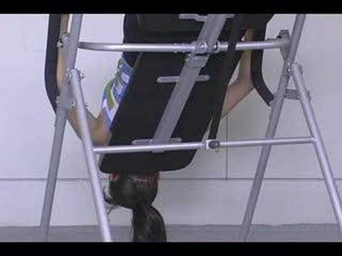 Marcy Inversion Chair Table On Workout Youtube