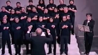 Azzurro (di Pallavicini e Conte) eseguito dal  Coro a bocca chiusa Città di Napoli