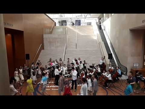 Melody Strings' Chamber Orchestra x 1B1 @ National Gallery Singapore
