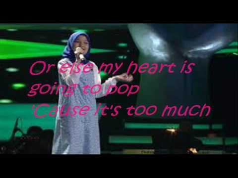 Rachel Voice Kids The Show lyrics
