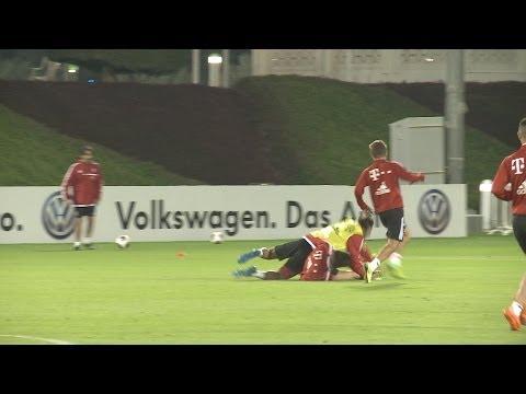 FC Bayern in Doha: Ribéry trifft, Thiago trickst und Martínez foult (07.01.2014)