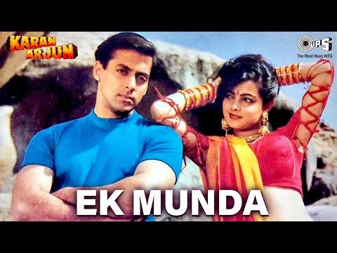 Ek Munda - Karan Arjun | Salman Khan & Mamta Kulkarni | Lata Mangeshkar | Rajesh Roshan