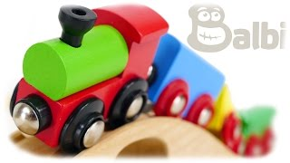 TRAINS FOR CHILDREN VIDEO: Balbi Child craft Starter Train Set Wooden Railway 37 items Review Toys(TRAINS FOR CHILDREN VIDEO: Balbi Child craft Starter Train Set Wooden Railway 37 items Review Toys ..., 2016-08-12T13:21:08.000Z)
