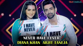 Arjit and Diana spill each-others personal secrets | Never Have I Ever | TellyChakkar