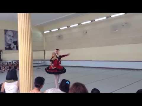 """Don Quixote"" Pas de Deux. Cuban National Ballet School ""Fernando Alonso"""