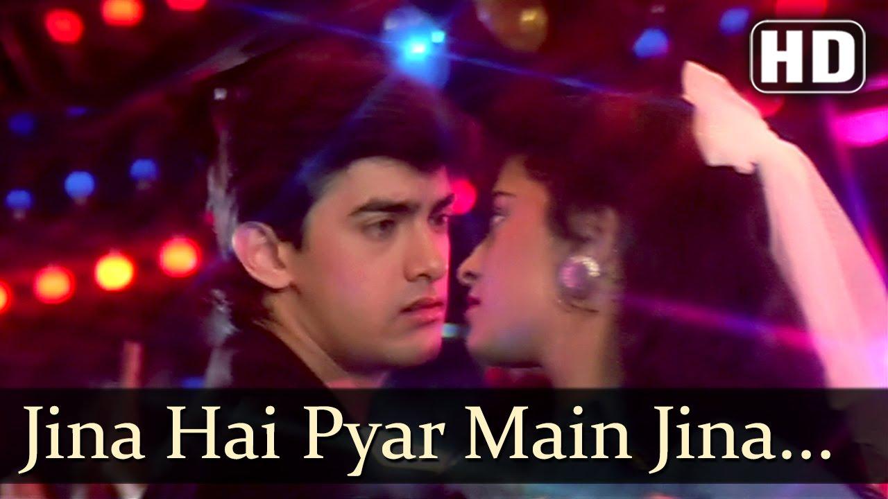 Download Jeena Hai Pyar Mein Jeena - Aamir Khan - Juhi Chawla - Love Love Love