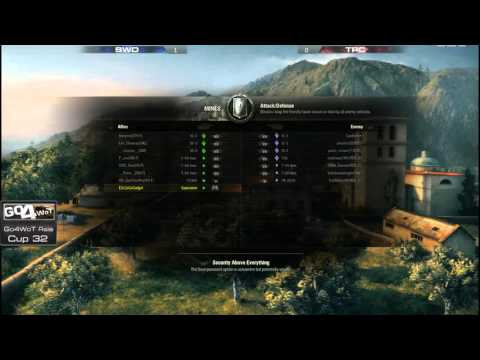 WoT - Swordfishes vs The Potato Crew - Go4WoT Asia - Cup 32 - Semi Finals
