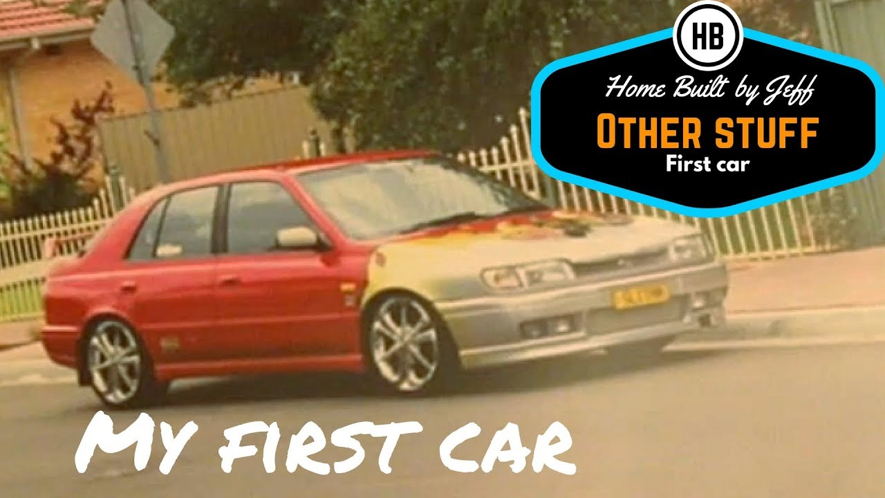 My first car - Other stuff with Mrs Jeff\'s husband 1 - YouTube