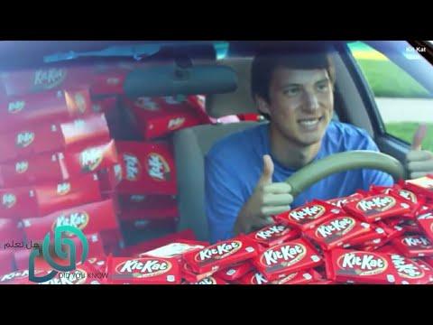سرق شوكلاته Kit Kat من هذه السيارة .. بعد هذا ما حدث كان مدهش جدا !! | Kit Kat