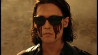 Джонни Депп стреляет вслепую - Однажды в Мексике