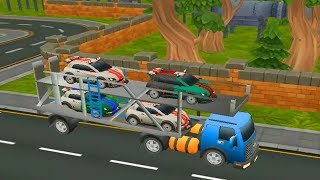 Race Cars Plane Transporter Game Android gameplay Best games 2018 walkthrough