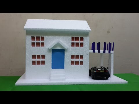 4 Thermocol House Models: School Projects for Kids