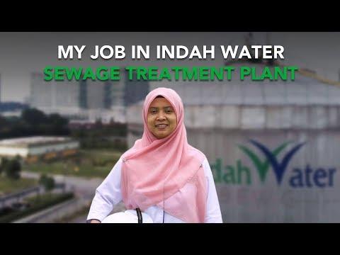 My Job In Indah Water Sewage Treatment Plant | Presented by Indah Water Konsortium