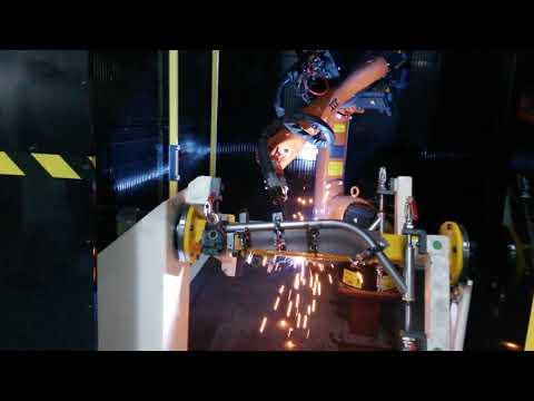Kuka kr5 robotic welding machine