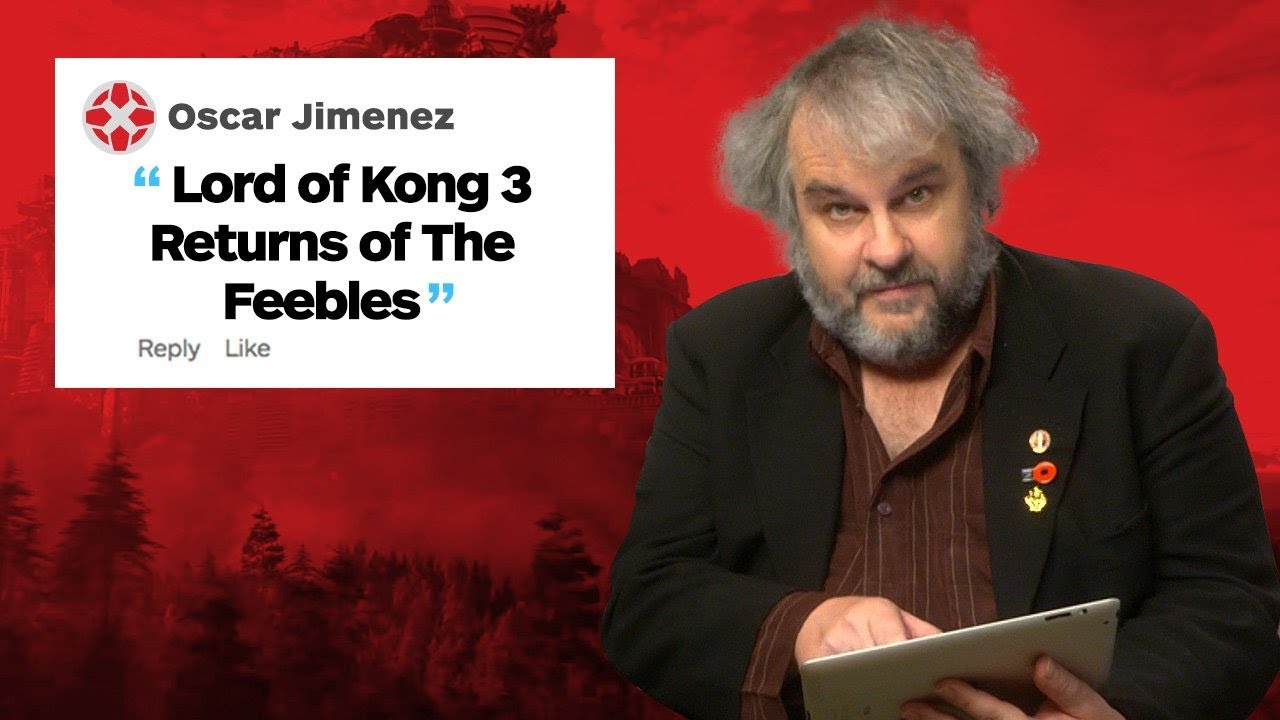 Peter Jackson Responds to IGN Comments