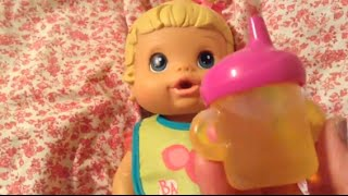Baby Alive Better Now Baby Doll Meredith Moving Day And Bottle Feeding