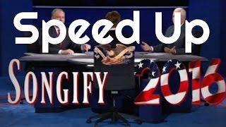 speed up   pence vs kaine vp debate songify 2016 made by schmoyoho