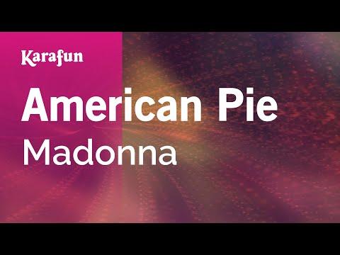 Karaoke American Pie - Madonna *
