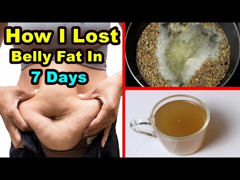 How I Lost Belly Fat In 7 Days! No Workout! Best Weight Lose Formula