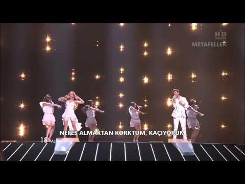Eurovision 2011 Türkçe Çevirileri   Azerbaycan - Ell & Nikki - Running Scared
