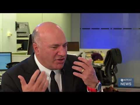 Shark Tank Kevin O'leary talks Bitcoin!