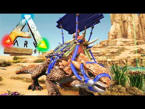 THORNY DRAGON CON MONTURA EPICA !! OMG ARK LOS REYES DEL DESIERTO #5 ARK SCORCHED EARTH Makigames