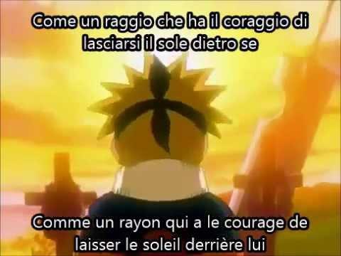 Naruto Italian Opening Lyrics-Vostfr