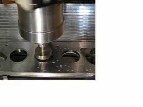 Hauser CNC Jig Grinder Test (sold)   Hauser Helyzetköszörű Teszt - 2014