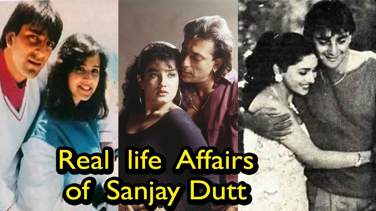 8 Real Life Love Affairs of Sanjay Dutt | You Never Know
