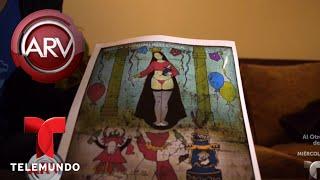 Revuelo por pintura de la Virgen María en ropa interior | Al Rojo Vivo | Telemundo