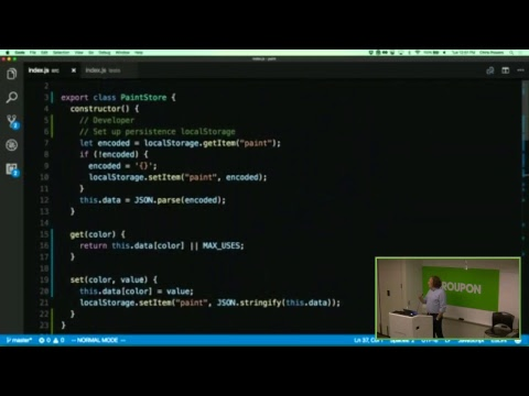 JavaScript Refactoring Masterclass with Chris Powers
