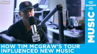 Tim McGraw on how the Soul2Soul tour with wife Faith Hill influenced his new songs