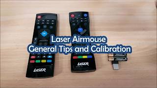 Laser Airmouse General Tips and Calibration