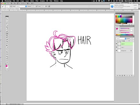 real-faker Presents: A Not Especially Entertaining HAIR DESIGN Tutorial