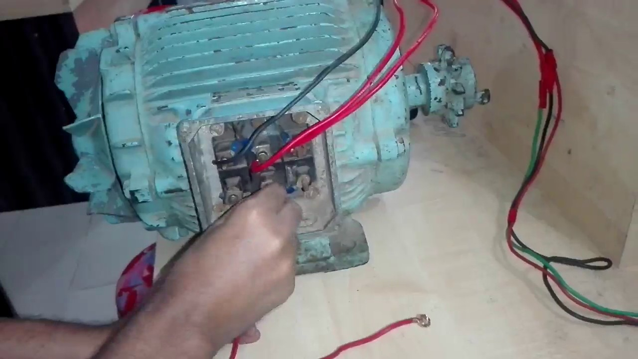 How to 3 Phes Motor Star connection থ্রি ফেজ মোটর ...