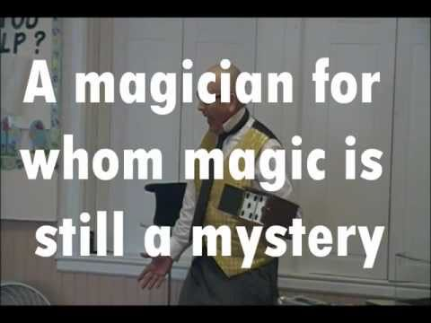 The Stupendous Mr. Magichead, An Accidentally Funny Magician