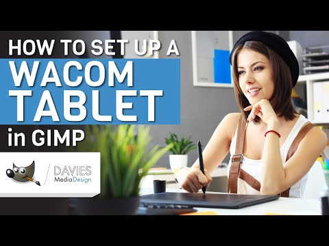 GIMP Basics: How to Set Up a Wacom Tablet (2018) - YouTube