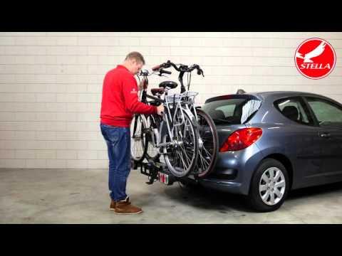 Fietsendrager monteren elektrische fiets - Stella Fietsen