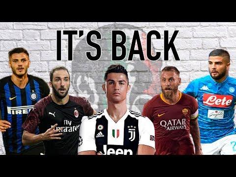 Forza Italian Football Podcast LIVE | Serie A 2018/19 season preview