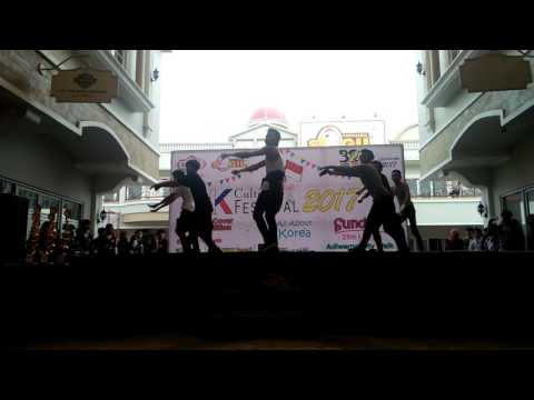 Monsta X - Trespass + Fighter (Dance Cover by Iconext Tegal) @Culture Festival 2017 Adiwerna