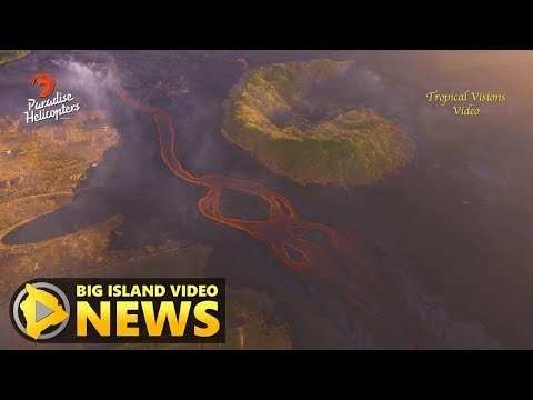 Hawaii Volcano Eruption Update - Thursday Morning (July 26, 2018)