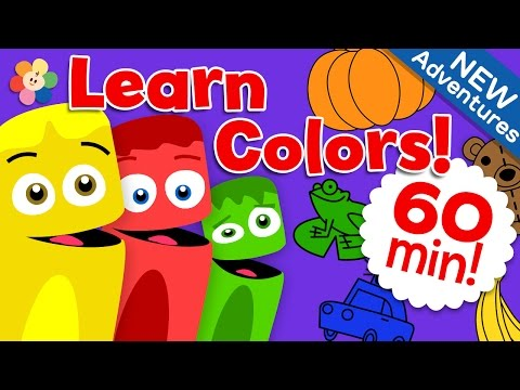 Coloring Nature | Learn the Colors with Beautiful Nature, Animals and More | Color Crew | BabyFirst